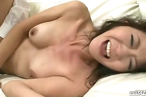Mature Woman Getting Her Mouth And Pussy Fucked Wits Old Husband Connected with excess of The Couch Connected with T