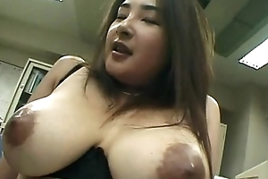 Jap pregnant slut taking cock deep in her slick horny pussy
