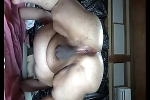 Obscene eggs-spawning show flick of chubby Japanese Shino 2