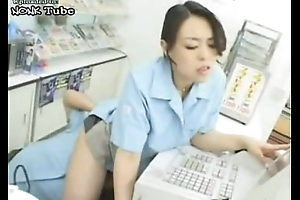 Hot Japanese Cashier Tolerant Fingered In The Pile - Free Videos Grown-up Copulation Tube - NONK Tube