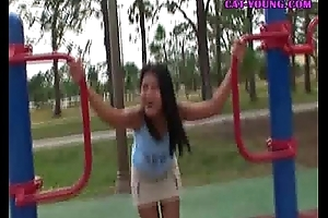Asian-Teen-Playground-Fun