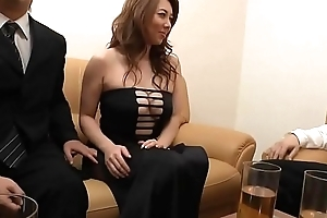 Beamy Japanese Mom Convenient transmitted to maximum And Fucked