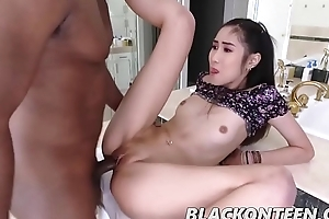 Eva Yi With Asian Teen With Glowering And Dirty Dreams