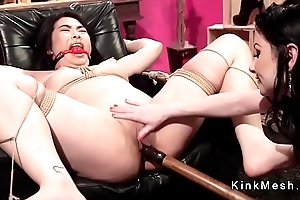 Rich Asian client spanked and anal fingered