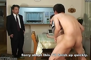 Japanese Cuckold Shared Wife Fucked foreigner Doggy Style