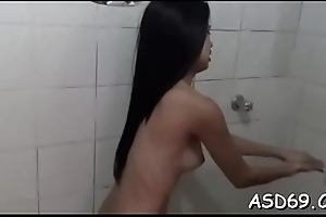 Tight thai expensive fondles herself