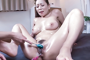 Watch out boggling making love sceens wavelength milf with big tits, Rei Kitajima