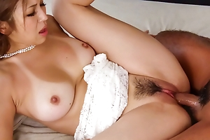 Mai Kuroki loves having team a few schlongs in the brush tight holes