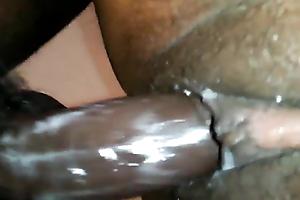 Huindu Boy fuck wife's tight pussy creampie,she was very hae