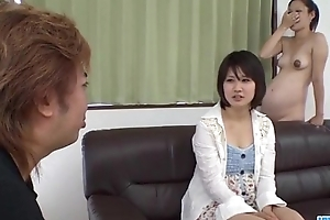 Ai Nashi feels amazing with cock more both her holes
